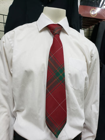 CARRUTHERS RED TIE