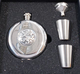 Hip Flask (stainless steel 5 oz)