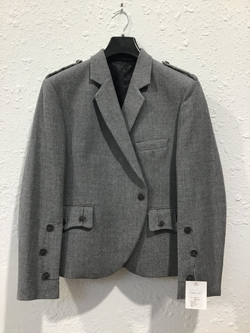 TWEED JACKET & WAISTCOAT (LIGHT GRAY)