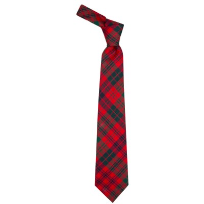 ROSS RED MODERN TIE