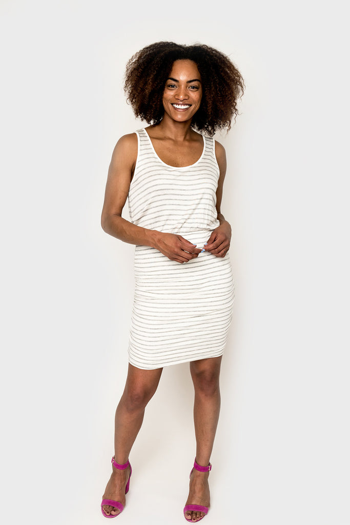 Rouched Tank Dress