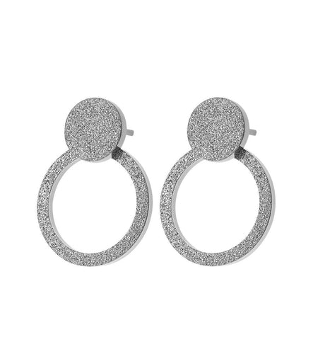 Edblad Valerie Earrings Sparkle Steel