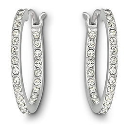 Swarovski Sommerset Hoop Earrings