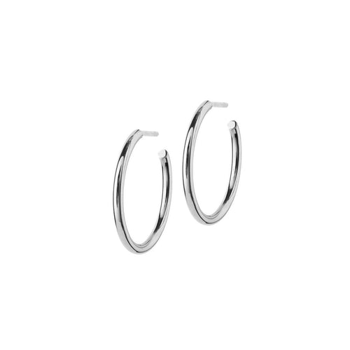 Edblad Hoops Earrings Medium Steel