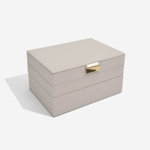 Stackers Taupe Classic Jewellery Box
