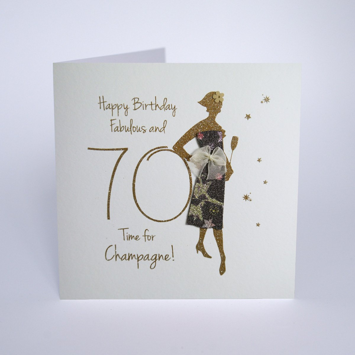 Happy Birthday Fabulous At 70 Time For Champagne Five Dollar Shake Cliftons