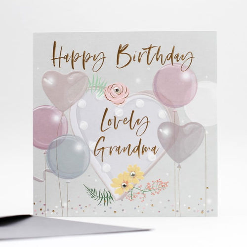 Happy Birthday To A Lovely Grandma- Belly Button Designs