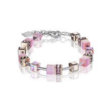 Load image into Gallery viewer, Coeur De Lion GeoCUBE Bracelet Light Rose, Rose Gold