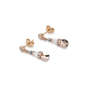 Coeur De Lion Earrings Crystals - Rose