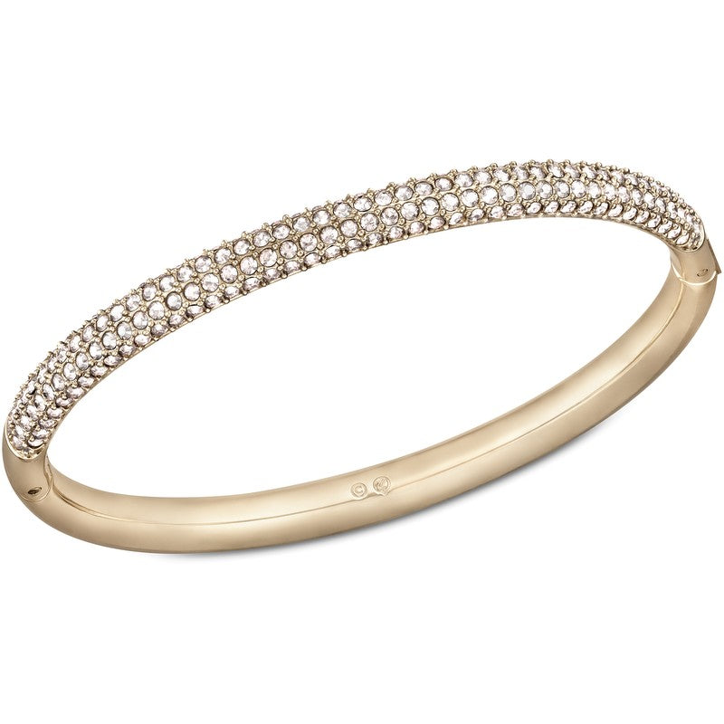 Swarovski Stone Bangle Rose Gold, Medium