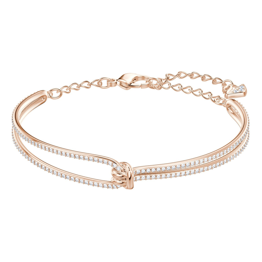 Swarovski Lifelong Bangle Rose Gold Plating