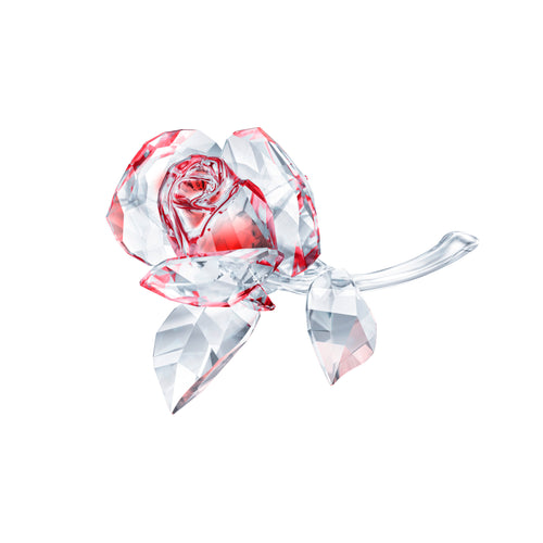 Swarovski Blossoming Red Rose