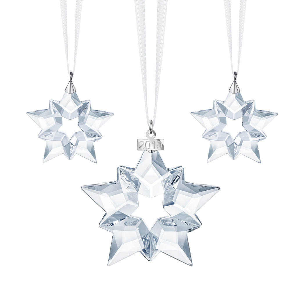 Swarovski Christmas Star Set 2019