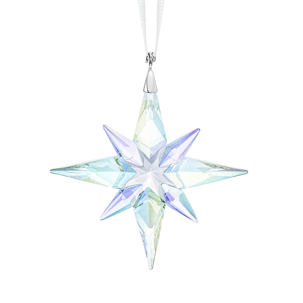 Swarovski Small Star Ornament Crystal A.b - Pre Order