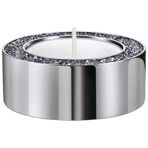 Swarovski Minera Tealight Holder, Small, Silver