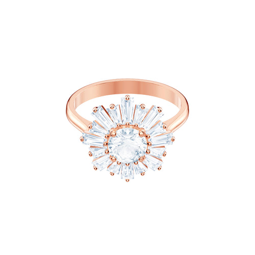 Swarovski Sunshine Ring, Rose Gold Tone