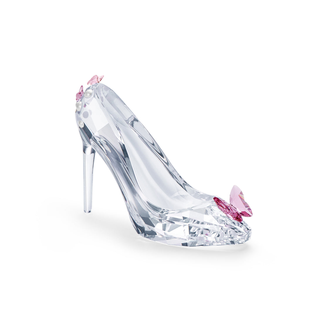 Swarovski Shoe with Butterfly