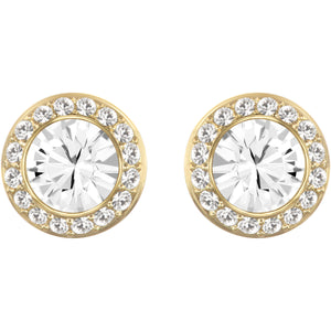 Swarovski Angelic Stud Earrings Gold
