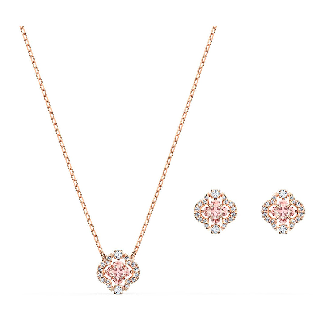 Swarovski Sparkling Cover Set, Rose Gold Plated