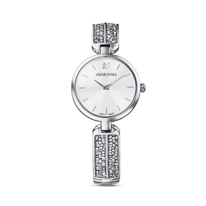 Swarovski Dream Rock Watch, Metal bracelet, Silver Tone, Stainless steel