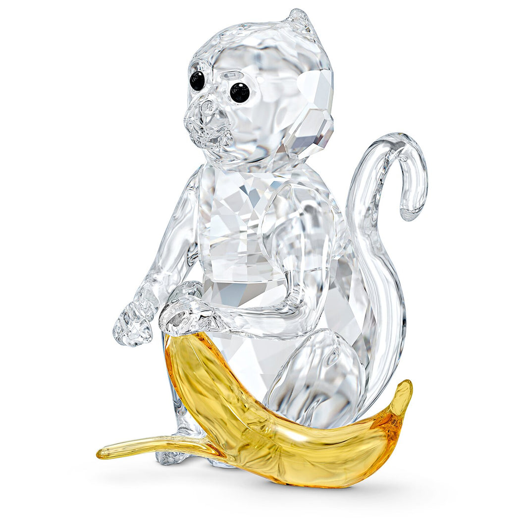 Swarovski Monkey With Banana