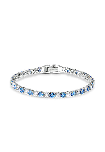 Swarovski Tennis Bracelet Deluxe Light Blue