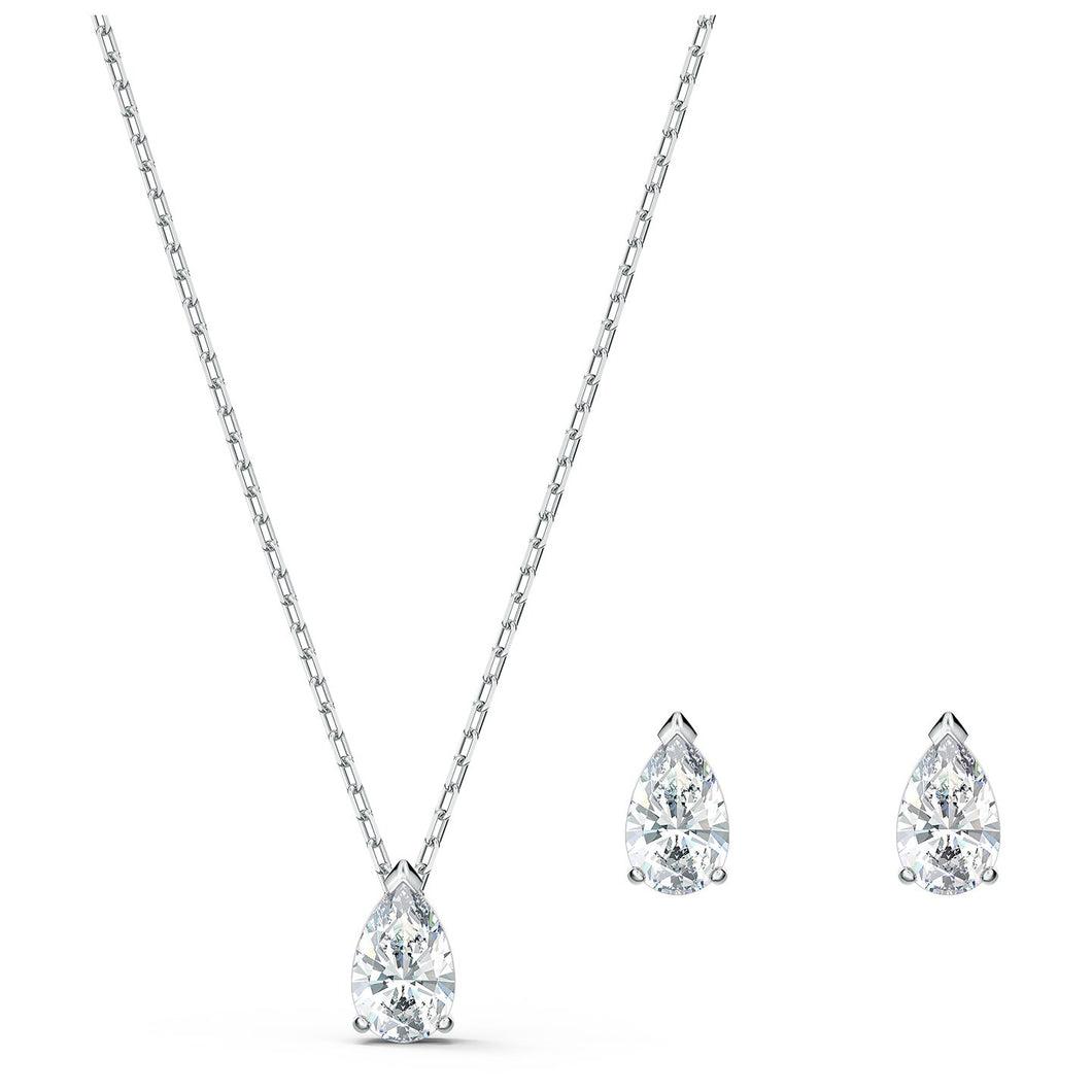 Swarovski Attract Set Pear