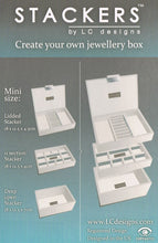 Load image into Gallery viewer, Mini Stackers Mink Deep Open Jewellery Tray