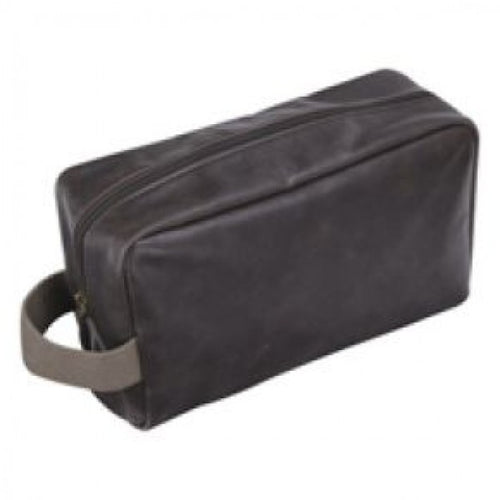 Jacob Jones Wash Bag Brown & Khaki