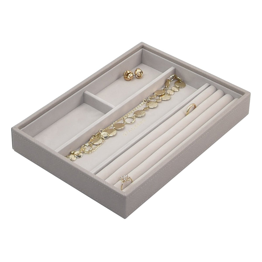 Stackers Taupe Ring & Bracelet Jewellery Tray