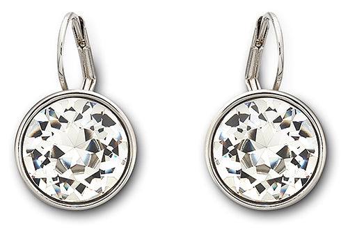 Swarovski Bella Pierced Earrings Clear Crystal