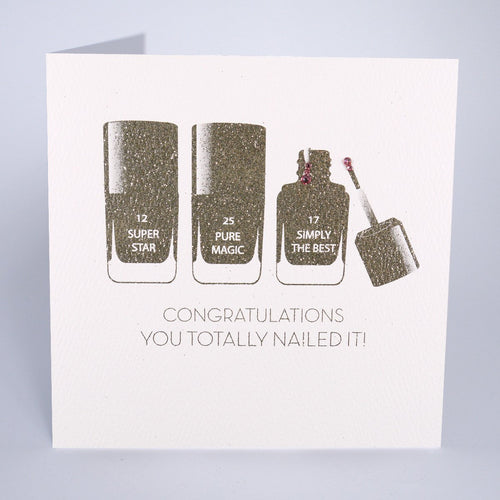 Congratulations You Totally Nailed It! - Five Dollar Shake