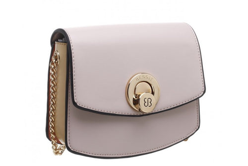 Bessie Cross Body Pink Turn Lock Handbag