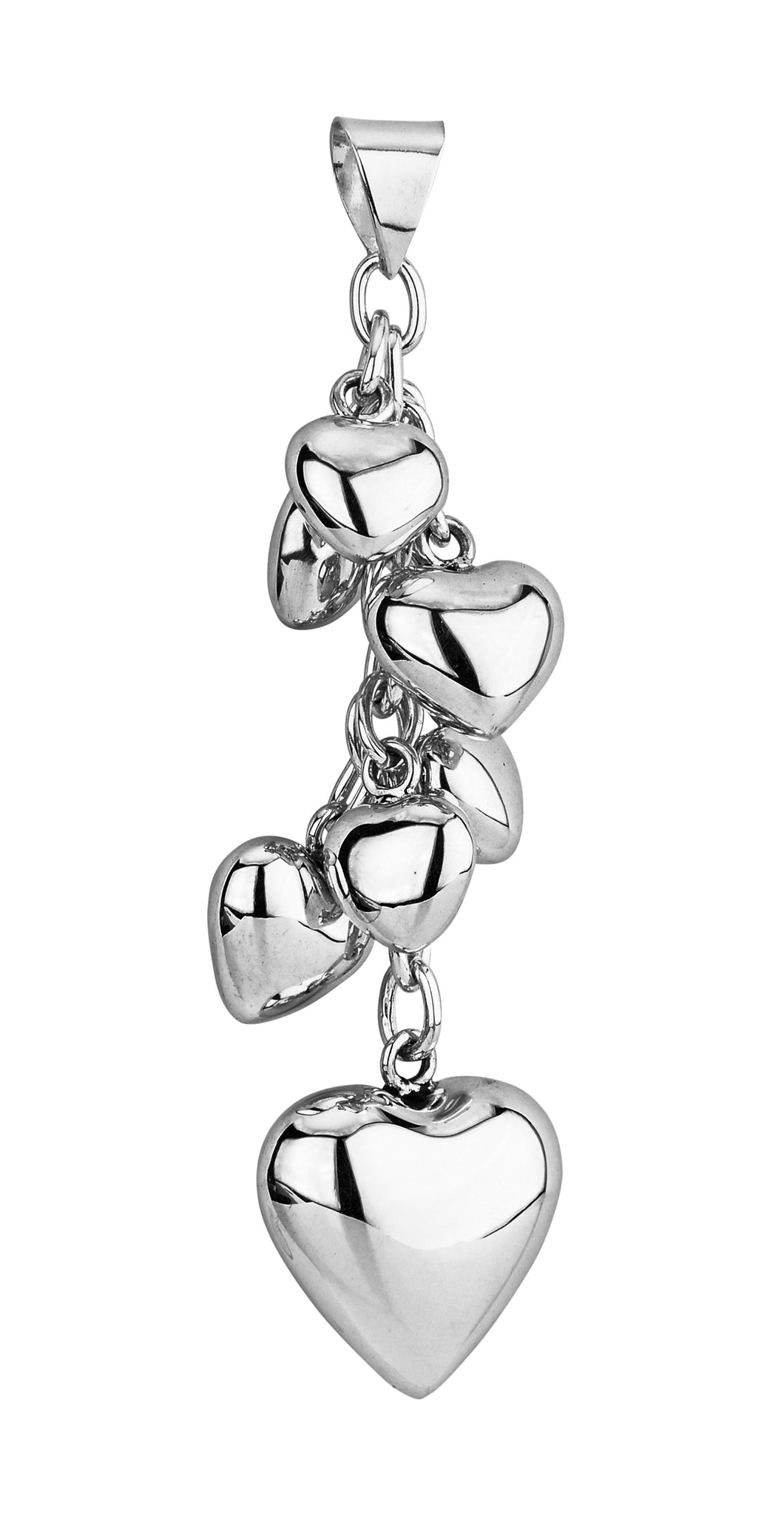 Tianguis Jackson Multi Heart Cluster Necklace