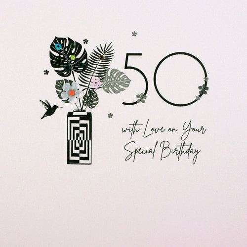 50 With Love On Your Special Birthday - Five Dollar Shake