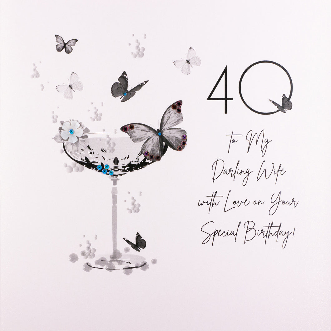 40 To My Darling Wife On Your Special Birthday - Five Dollar Shake