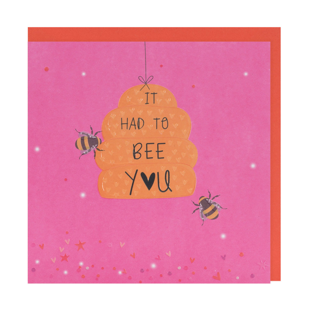 Valentines Day Card by Belly Button Designs