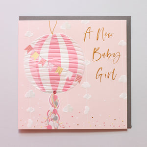 A New Baby Girl - Belly Button Designs
