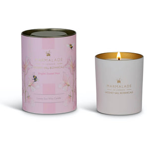 Marmalade Of London Mosney Mill English Sweet Pea Large Candle