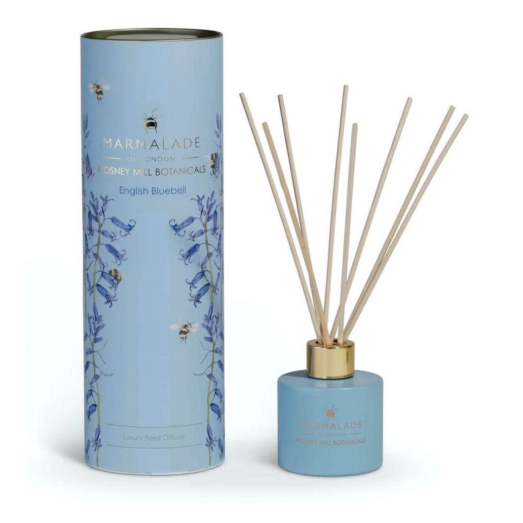 Marmalade Of London Mosney Mill English Bluebell Reed Diffuser