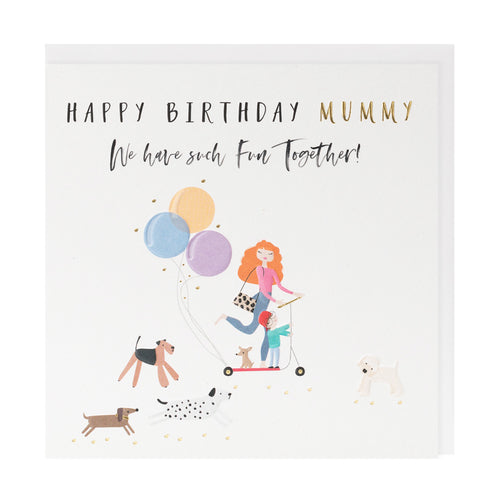 Happy Birthday To A Lovely Mummy - Belly Button Designs