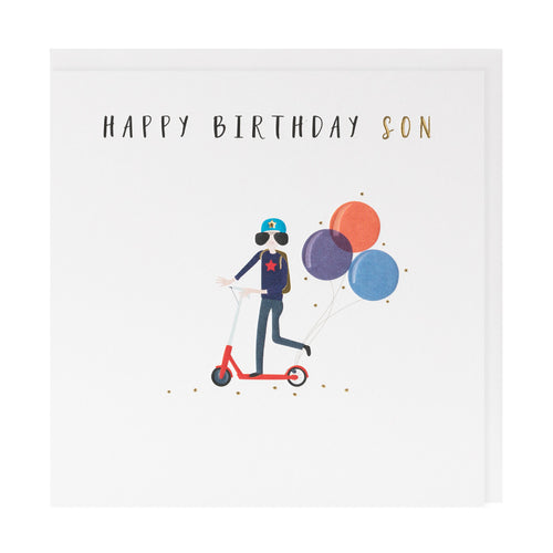 Happy Birthday Son - Belly Button Designs
