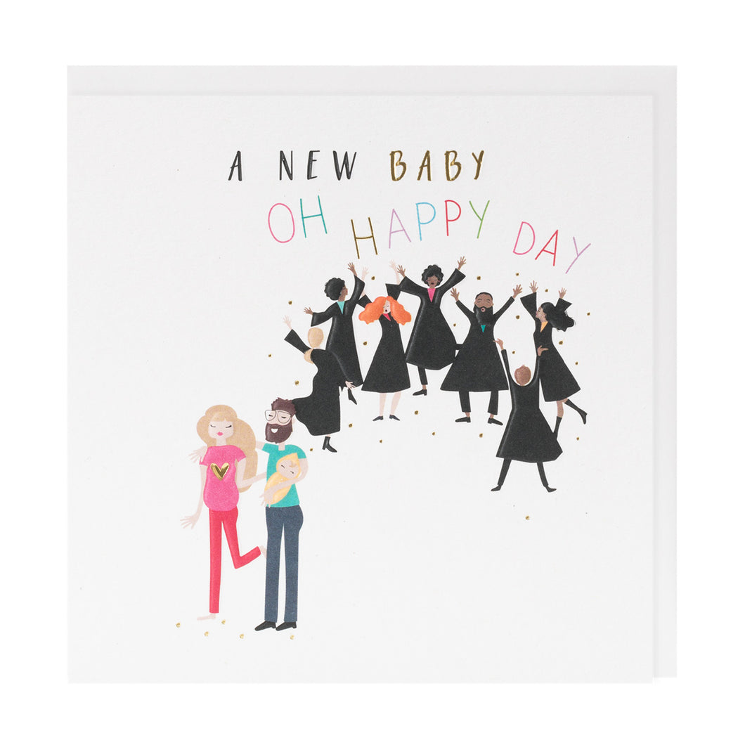 A New Baby Oh Happy Day - Belly Button Designs
