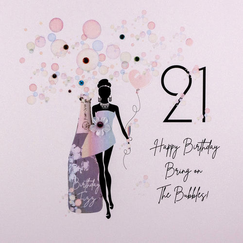 Five Dollar Shake 21st Birthday Card