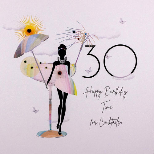 Special 30th Birthday Card by Five Dollar Shake