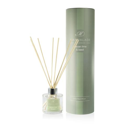 Marmalade Of London Tuscan Lime & Basil Reed Diffuser
