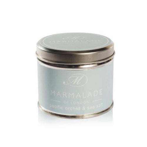 Marmalade Of London Pacific Orchid & Sea Salt Medium Tin Candle