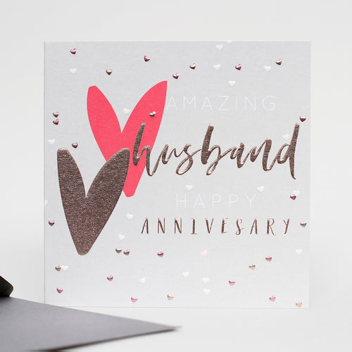Amazing Husband Happy Anniversary - Belly Button Designs