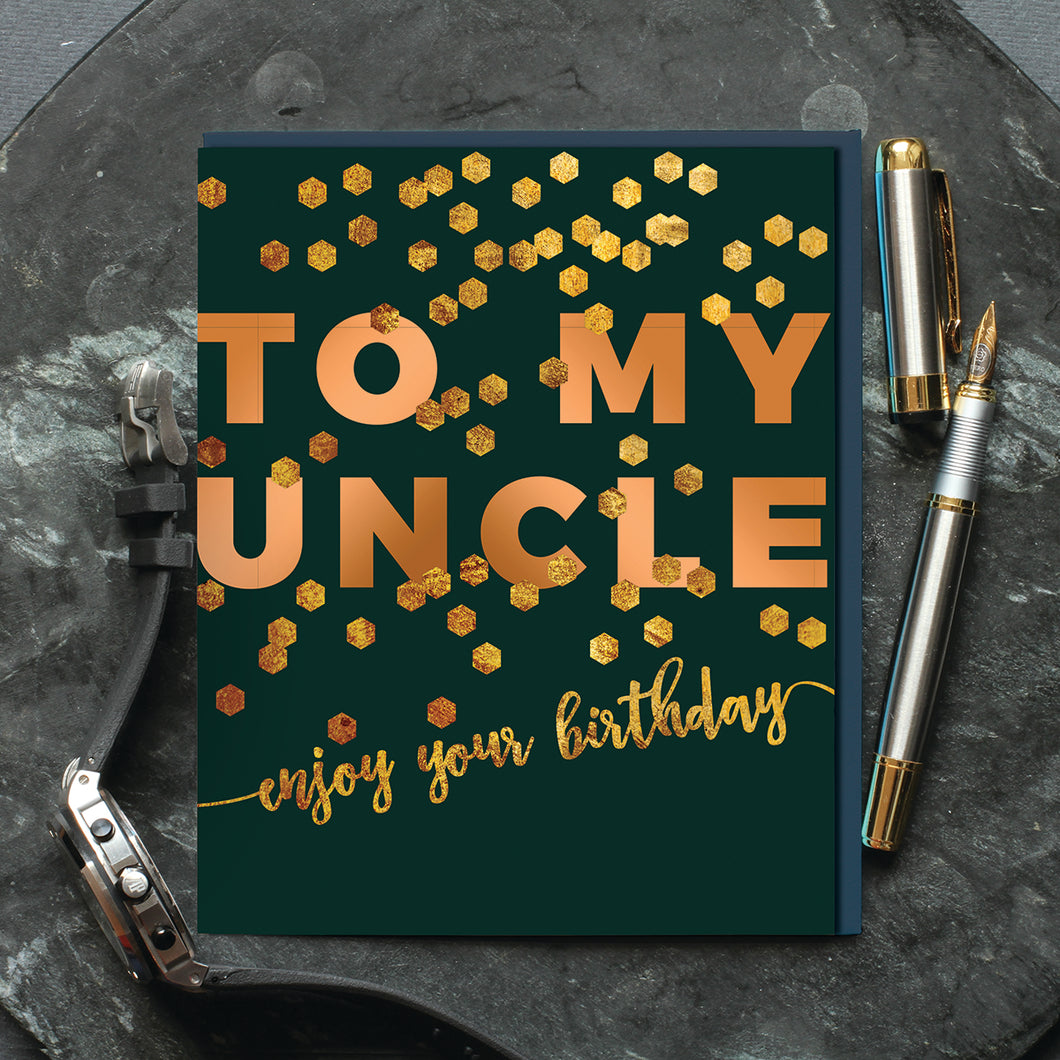 Happy Birthday Uncle - Belly Button Designs