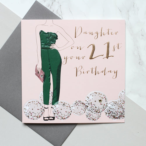 Daughter On Your 21st Birthday - Belly Button Designs